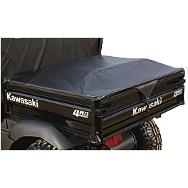 Kawasaki Genuine Accessories Bed Tonneau Cover - Black - 2011 Kawasaki MULE 600 Kawasaki Genuine Accessories Slip-Resistant Bed Liner