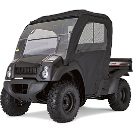 Kawasaki Genuine Accessories Soft Enclosure - Realtree - 2012 Kawasaki MULE 600 Kawasaki Genuine Accessories Soft Enclosure - Black