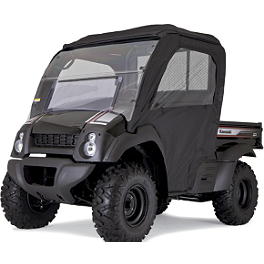 Kawasaki Genuine Accessories Soft Enclosure - Black - 2012 Kawasaki MULE 610 4X4 XC Kawasaki Genuine Accessories Camo Seat Cover