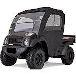 Kawasaki Genuine Accessories Soft Enclosure - Black - Kawasaki OEM Parts Utility ATV Body Parts and Accessories