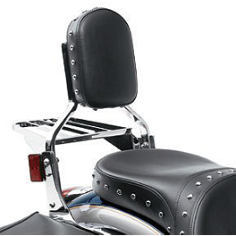 Kawasaki Genuine Accessories Backrest Pad With Frame - Kawasaki Genuine Accessories Saddlebags With Mount Kit