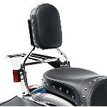 Kawasaki Genuine Accessories Backrest Pad With Frame - Cruiser Sissy Bars
