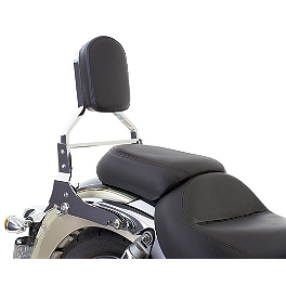 Kawasaki Genuine Accessories KQR Backrest Kit With Pad - Kawasaki Genuine Accessories KQR Windshield Conversion Kit