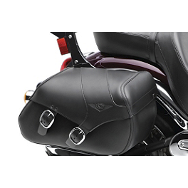 Kawasaki Genuine Accessories Saddlebags With Mount Kit - Kawasaki Genuine Accessories Saddlebags - Plain