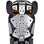 Kawasaki Genuine Accessories Skid Plate Combo - Kawasaki OEM Parts Utility ATV Skid Plates
