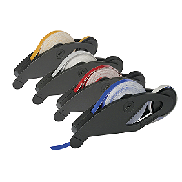 Keiti Reflective Motorcycle Wheel Stripe - Keiti Piston Valve Caps