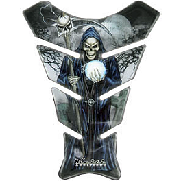 Keiti Small Tank Protector - Reaper - Keiti Tank Protector - Clear Female With Guns