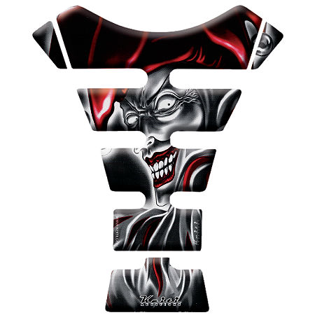 Keiti Tank Protector - Black/Red Jester - Main