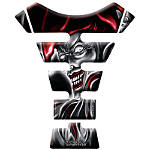 Keiti Tank Protector - Black/Red Jester - Keiti Dirt Bike Cruiser Parts