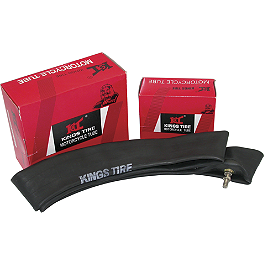 Kings Tube 2.50 Or 2.75-10 - 2004 Kawasaki KDX50 Dunlop 50 Geomax MX51 Tire Combo