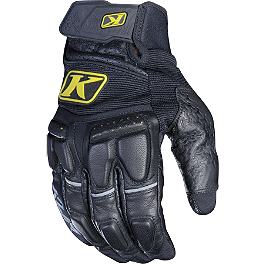 2013 Klim Adventure Gloves - Klim Element Gloves - Short