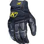 2013 Klim Adventure Gloves - SIDI Shorty Motorcycle Gloves