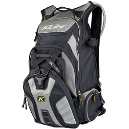2013 Klim Krew Pak - Black - Fox Portage Hydration Pack