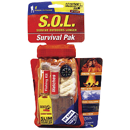 Klim S.O.L. Survival Pak - Klim Ultralight Watertight First Aid Kit