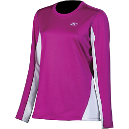 2014 Klim Women's Elevation Tech Long Sleeve T-Shirt - 2014 Klim Women's Lady Tech Long Sleeve T-Shirt