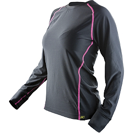 2013 Klim Women's Solstice Shirt - 2013 Klim Women's Lady Tech Long Sleeve T-Shirt