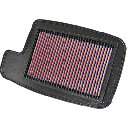 K&N Air Filter - 2004 Arctic Cat 650 V-TWIN 4X4 AUTO Moose Dynojet Jet Kit - Stage 1