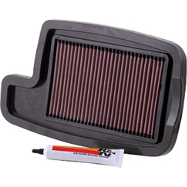 K&N Air Filter - 2009 Arctic Cat 500I 4X4 AUTO Moose Dynojet Jet Kit - Stage 1