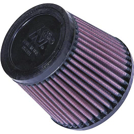 K&N Air Filter - 2001 Arctic Cat 400 4X4 Moose Dynojet Jet Kit - Stage 1