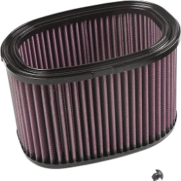 K&N Air Filter - 2010 Kawasaki BRUTE FORCE 750 4X4i (IRS) Moose Cordura Seat Cover