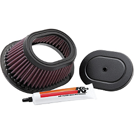 K&N Air Filter - 1998 Yamaha BLASTER FMF Power Up Jet Kit
