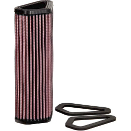 K&N Air Filter - Ducati - 2008 Ducati 848 Sargent World Sport Performance Seat With Red Welt