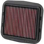 K&N Air Filter - Ducati -  Motorcycle Lights and Electrical