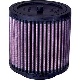 K&N Air Filter - 2004 Honda RINCON 650 4X4 Dynojet Jet Kit