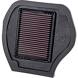 K&N Air Filter - 2010 Yamaha GRIZZLY 550 4X4 POWER STEERING K&N Air Filter