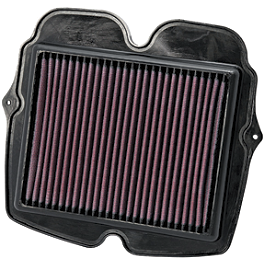 K&N Air Filter - Honda - NGK Laser Iridium Spark Plugs