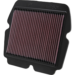 K&N Air Filter - Honda - 2009 Honda Gold Wing 1800 Premium Audio - GL1800 BikeMaster Air Filter