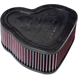 K&N Air Filter - Honda - 2005 Honda VTX1800F2 NGK Laser Iridium Spark Plugs