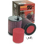 K&N Air Filter - Honda Pair - K&N Dirt Bike Motorcycle Parts