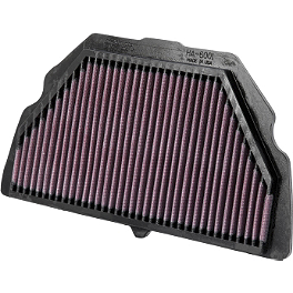 K&N Air Filter - Honda - 2003 Honda CBR600F4I BikeMaster Air Filter