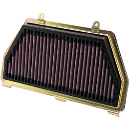 K&N Air Filter - Honda - 2008 Honda CBR600RR BikeMaster Air Filter