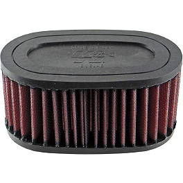 K&N Air Filter - Honda - 2000 Honda Shadow Deluxe 750 - VT750CD JT Rear Sprocket 525