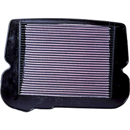 K&N Air Filter - Honda - 1991 Honda Gold Wing Aspencade 1500 - GL1500A BikeMaster Air Filter