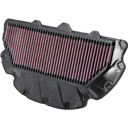 K&N Air Filter - Honda - 2002 Honda CBR954RR BikeMaster Air Filter