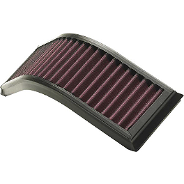 K&N Air Filter - Kawasaki - 2007 Kawasaki ZX1000 - Ninja ZX-10R BikeMaster Air Filter