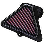 K&N Air Filter - Kawasaki -  Motorcycle Fuel and Air