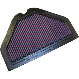 K&N Air Filter - Honda - Zero Gravity Double Bubble Windscreen