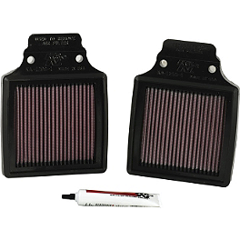 K&N Air Filter - Kawasaki - 2000 Kawasaki ZX1200 - Ninja ZX-12R Powerstands Racing Air Injection Block Off Plate