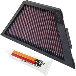 K&N Air Filter - Kawasaki - 2010 Kawasaki ZG1400 - Concours BikeMaster Oil Filter - Chrome