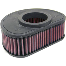 K&N Air Filter - Kawasaki - 2005 Kawasaki Vulcan 1600 Classic - VN1600A BikeMaster Air Filter