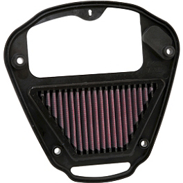K&N Air Filter - Kawasaki - 2010 Kawasaki Vulcan 2000 Classic LT - VN2000J BikeMaster Oil Filter - Chrome
