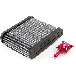 K&N Air Filter - Kawasaki - 2005 Kawasaki EX500 - Ninja 500 K&N Spin-on Oil Filter - Chrome