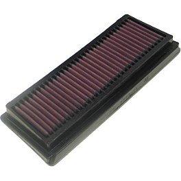 K&N Air Filter - Kawasaki - 2006 Kawasaki ZX636 - Ninja ZX-6R BikeMaster Air Filter