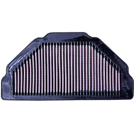 K&N Air Filter - Kawasaki - 2006 Kawasaki ZX600 - ZZ-R 600 BikeMaster Air Filter