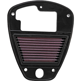 K&N Air Filter - Kawasaki - 2010 Kawasaki Vulcan 900 Classic - VN900B Dynojet Power Commander 5