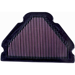 K&N Air Filter - Kawasaki - 2002 Kawasaki ZX900 - Ninja ZX-9R BikeMaster Air Filter